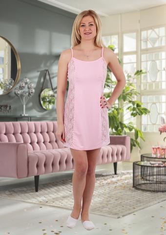 "Ночная сорочка "" Лэйла"" розовая"