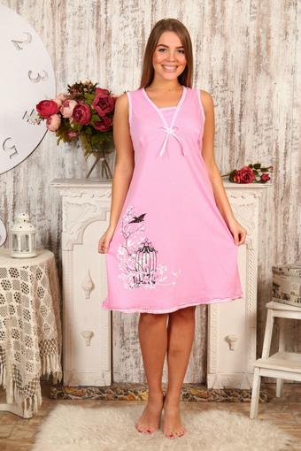 """Ночная сорочка """"Лето"""" розовый"""